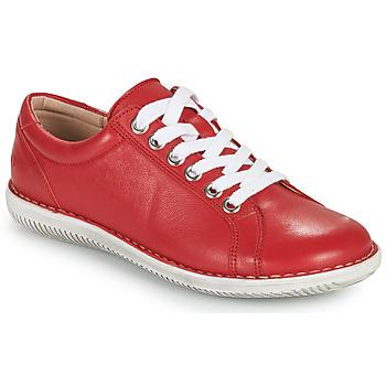 Sapatos Mulher Sapatos Casual Attitude OULETTE Vermelho