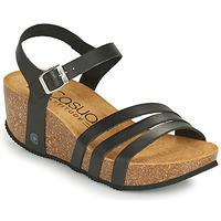 Sapatos Mulher Sandálias Casual Attitude OUDINE Preto
