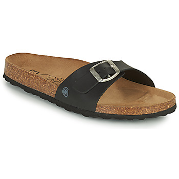 Sapatos Mulher Chinelos Casual Attitude OVOA Preto