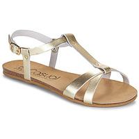 Sapatos Mulher Sandálias Casual Attitude JALIYAXE Ouro