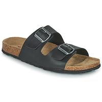 Sapatos Homem Chinelos Casual Attitude OMAO Preto
