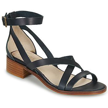 Sapatos Mulher Sandálias Casual Attitude COUTIL Marinho