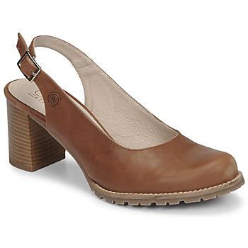 Sapatos Mulher Escarpim Casual Attitude OLEA Camel