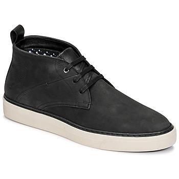 Sapatos Homem Botas baixas Casual Attitude OLEO Preto