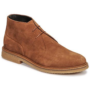 Sapatos Homem Botas baixas Casual Attitude NETOINE Castanho