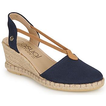 Sapatos Mulher Sandálias Casual Attitude IPOP Marinho