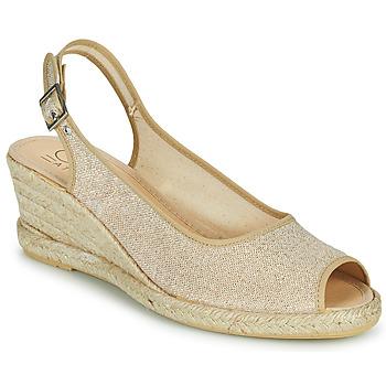 Sapatos Mulher Sandálias Casual Attitude MADELEINE Ouro
