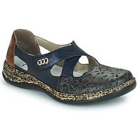 Sapatos Mulher Sabrinas Rieker DUBLIN Azul