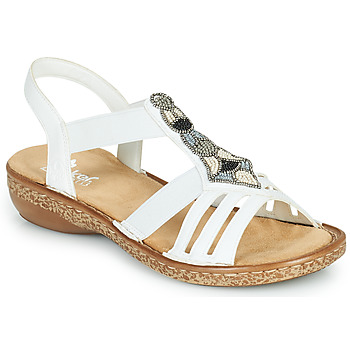Sapatos Mulher Sandálias Rieker DOLNA Branco