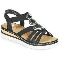 Sapatos Mulher Sandálias Rieker FANNI Azul