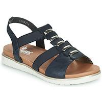 Sapatos Mulher Sandálias Rieker NINNA Azul