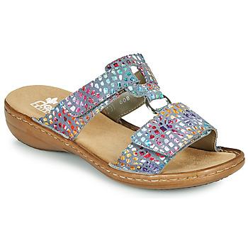 Sapatos Mulher Chinelos Rieker FOUNNA Multicolor