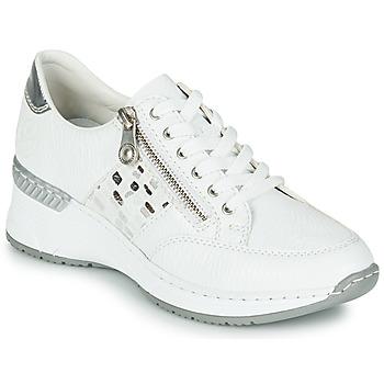 Sapatos Mulher Sapatilhas Rieker GRAMI Branco