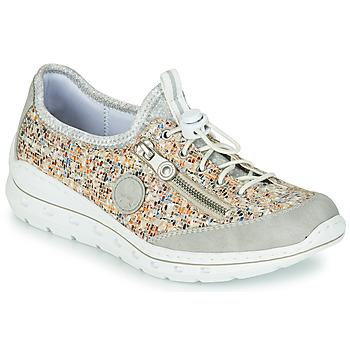 Sapatos Mulher Sapatilhas Rieker GRISSA Cinza / Multicolor