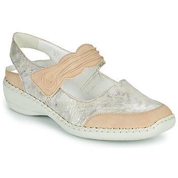 Sapatos Mulher Sandálias Rieker ALINA Prata