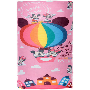 Acessórios Rapariga Cachecol Buff Tubular Minnie y Mickey Rosa
