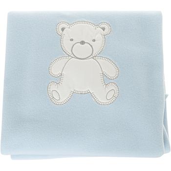 Casa Criança Mantas Babidu Manta polar Azul