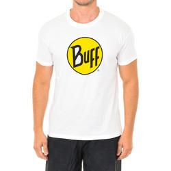Textil Homem T-Shirt mangas curtas Buff Camiseta m/corta Branco