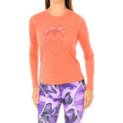 Textil Mulher T-shirt mangas compridas Buff Camiseta m/larga Vermelho
