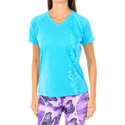 Textil Mulher T-Shirt mangas curtas Buff Camiseta m/corta Azul