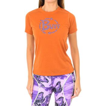Textil Mulher T-Shirt mangas curtas Buff Camiseta m/corta Laranja