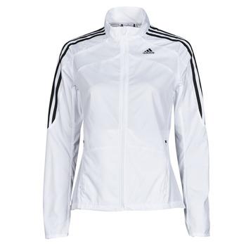 Textil Mulher Casacos fato de treino adidas Performance MARATHON JKT W Branco