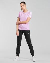 Textil Mulher Calças de treino adidas Performance W 3S FL C PT Preto