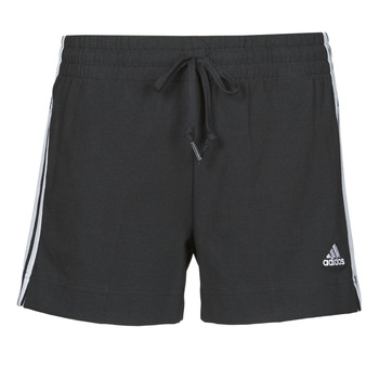 Textil Mulher Shorts / Bermudas adidas Performance W 3S SJ SHO Preto