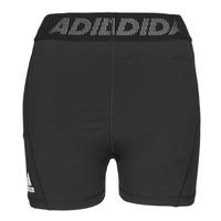 Textil Mulher Shorts / Bermudas adidas Performance TF SHRT 3 BAR T Preto