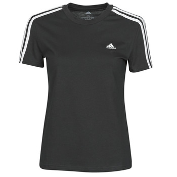 Textil Mulher T-Shirt mangas curtas adidas Performance W 3S T Preto