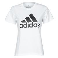 Textil Mulher T-Shirt mangas curtas adidas Performance W BL T Branco