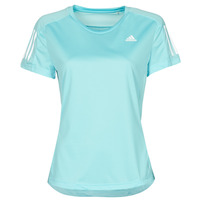 Textil Mulher T-Shirt mangas curtas adidas Performance OWN THE RUN TEE Azul
