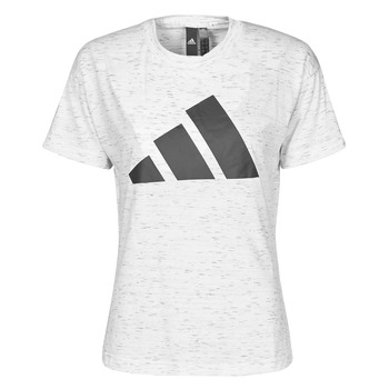 Textil Mulher T-Shirt mangas curtas adidas Performance W WIN 2.0 TEE Branco