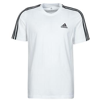 Textil Homem T-Shirt mangas curtas adidas Performance M 3S SJ T Branco