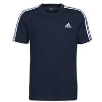 Textil Homem T-Shirt mangas curtas adidas Performance M 3S SJ T Azul