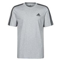 Textil Homem T-Shirt mangas curtas adidas Performance M 3S SJ T Cinza