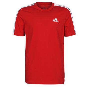 Textil Homem T-Shirt mangas curtas adidas Performance M 3S SJ T Vermelho