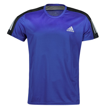 Textil Homem T-Shirt mangas curtas adidas Performance OWN THE RUN TEE Azul