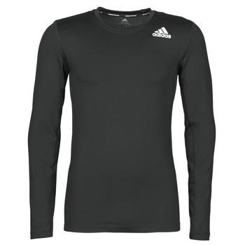 Textil Homem T-shirt mangas compridas adidas Performance TF LS Preto