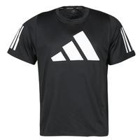 Textil Homem T-Shirt mangas curtas adidas Performance FL 3 BAR TEE Preto