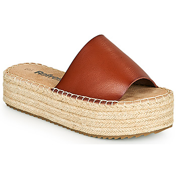 Sapatos Mulher Chinelos Refresh ETINNA Camel