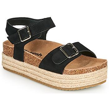 Sapatos Mulher Sandálias Refresh KINNA Preto