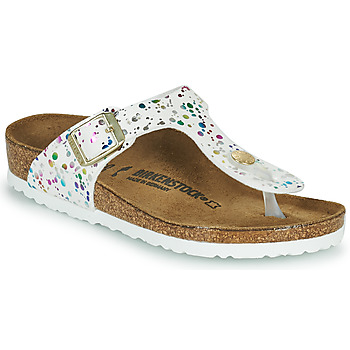 Sapatos Rapariga Chinelos Birkenstock GIZEH Branco