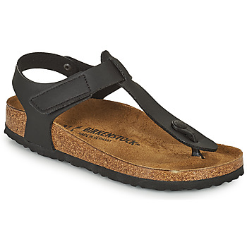 Sapatos Criança Chinelos Birkenstock KAIRO HL Preto