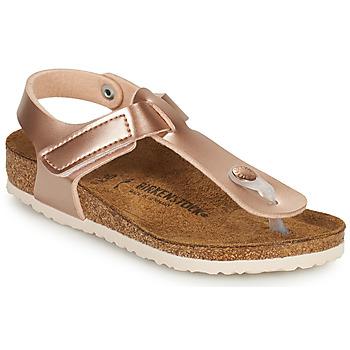 Sapatos Rapariga Chinelos Birkenstock KAIRO HL Rosa