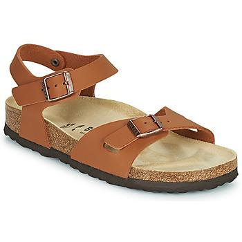 Sapatos Rapariga Sandálias Birkenstock RIO Castanho
