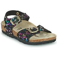 Sapatos Rapariga Sandálias Birkenstock RIO Preto / Multicolor