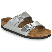 Sapatos Rapariga Chinelos Birkenstock ARIZONA Prata