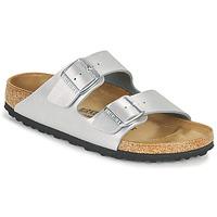Sapatos Mulher Chinelos Birkenstock ARIZONA Prata