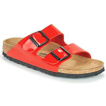 Sapatos Mulher Chinelos Birkenstock ARIZONA Vermelho
